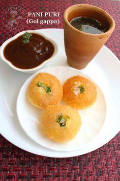 pani puri best perfect recipe sweet tamarind chutney green spicy water potato filling
