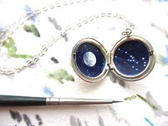 Personalized Jewelry Constellation Oil-Painted by kharaledonne