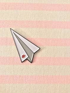 Paperman Inspired Pin by LegitWhitDesigns on Etsy