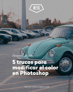 5 trucos para modificar el color en Photoshop #trucos #fotografia #photoshop #edicion