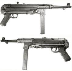 Maschinenpistole Model 1940 (MP40), caliber 9 mm parabellum, Germany.