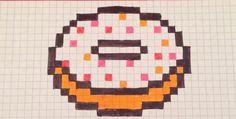 Pixel art donut