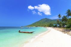 Gulf of Thailand, the palm-fringed island of Ko Tao takes its name from the abundant sea turtles that reside on its shores
