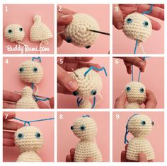 Movable Head for your Amigurumi - Tutorial