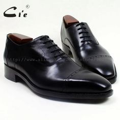 >> Click to Buy << cie Square Cap Toe Handmade 100% Genuine Calf Leather Outsole Breathable Men's Shoe Flats Work Dress Oxford Black Goodyear OX515 #Affiliate