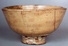 銘「さかい」 根津美術館蔵 重要美術品 高さ8.5~9.2cm 口径15.7~16.3cm 高台径5.8cm