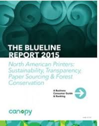 Canopy's Blueline report wins Gold at the Canadian Printing Awards (PrintCAN 18 November