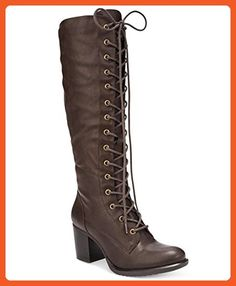 ff796ce8642 American Rag Lorah Lace-Up Boots