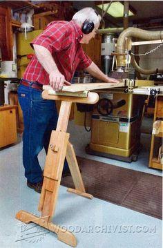 Adjustable Roller Stand Plans