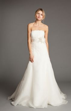 Lucinda Strapless Wedding Dress by Jenny Yoo....maybe? Not sweetheart neckline though. :/