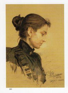 Tatjana Tolstaya  - Ilya Repin 1892