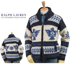 Ralph Lauren Men's Double-Zip Cowichan Sweater US ポロ ラルフローレン ハンドニット カウチンセーター【楽天市場】