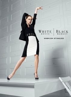 Coco Rocha Has Danceability for White House Black Market's Fall 2012 Campaign