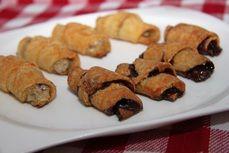 Plněné croissanty /Stuffed croissants/ Zdravé, nízkosacharidové, bezlepkové recepty. (Healthy, low carb, gluten free recipes.) Croissants, Lchf, Sweet Recipes, Paleo, Gluten, Cookies, Desserts, Free, Postres