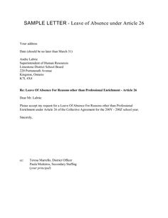 Example Of Permission Letter For Industrial Visit As Its Name Says Is Written Seeking The An A Part