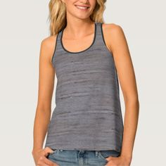 Pale Gray Stone Structure All-Over Print Tank Top - stones diy cyo gift idea special