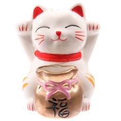 Maneki Neko Ceramic Cat Bank
