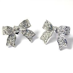 I'm A Cute Little Princess Ribbon Pave' Earrings (Clear Crystals) , http://www.amazon.com/dp/B007ZVC8FM/ref=cm_sw_r_pi_dp_fDfcrb1S0AGFW