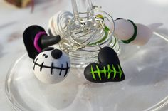 Halloween decoration - handmade Halloween winecharms today finally uploaded to my store. See the link for details :) https://www.etsy.com/ca/listing/547362280/original-halloween-gift-handmade
