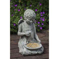 Campania International, Inc Claire Angel Statue Color: Terra Nera