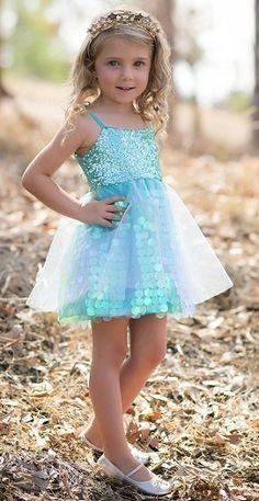 Le Pink Vanity Fair Blush Pink Ruffle Crochet Trim Dress ...