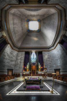 Scottish Rite of Freemasonry House of the Temple HDR Vertorama by Brandon Kopp