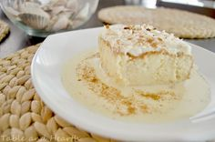 Cuatro Leches cake - a Tres Leches with coconut milk