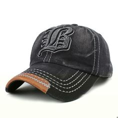 FLB  Cotton Embroidery Letter W Baseball Cap Snapback Caps Bone casquette  Hat Distressed Wearing Fitted Hat For Men Custom Hats f84699961ad2
