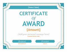 Gift Certificate Template Word 2007