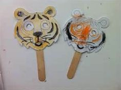 Image detail for -is for Zoo Animals- Tiger Mask Craft for Kids Daycare Craft Kindergarten Crafts, Daycare Crafts, Preschool Crafts, Zoo Crafts, Kids Daycare, Daycare Ideas, Preschool Ideas, Kids Crafts, Craft Ideas