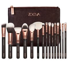 Pre sell !!ZOEVA 15 PCS ROSE GOLDEN COMPLETE MAKEUP BRUSH SET Professional Luxury Set Make Up Tools Kit Powder Blending brushes-in Makeup Brushes & Tools from Health & Beauty on Aliexpress.com | Alibaba Group