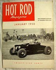 Oct 1950 Hot Rod Magazine Ex Cond Be Novel In Design