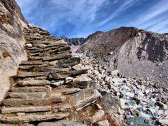 Stairs-Machermo-Gokyo-Gokyo Trek-Nepal