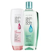 SKIN SO SOFT Bath Duo - SALE $10 until June 3rd. Moisturize to the max. ORDER at www.YourAvon.com/cvmack