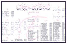 #seatingplan #modernwedding #escortcards #weddingseating chart