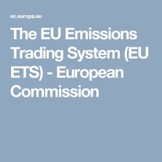 European union emission trading system wiki