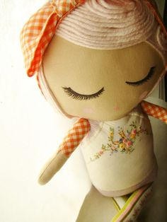 Custom Cloth Doll for ELLA by MendbyRubyGrace on Etsy