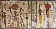 Ancient egyptian art - Bing Images They are Placing the Suns