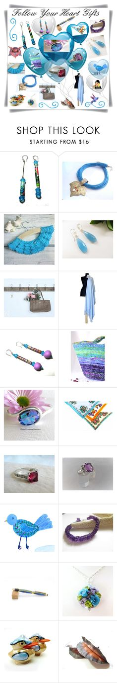 """Follow Your Heart Gifts"" by sylvia-cameojewels ❤ liked on Polyvore featuring Hostess"