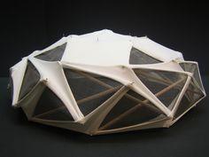Tensegrity dome - prototype