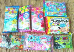 Poppin' Cookin' candies and Nerunerune I want alllll of them soo verry bad