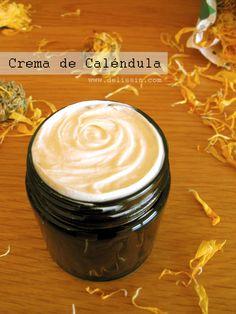 Crema Casera para la cara | Caléndula Deluxe {Pieles envejecidas, Maduras, Secas, Sensibles, o% Tóxicos}