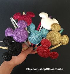 Mickey Mouse HeadbandMinnie Mouse Headband First by ChloeStudio