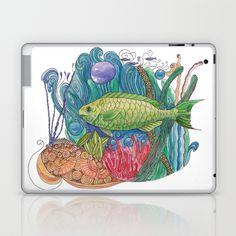 Parrotfish Paradise Laptop & iPad Skin