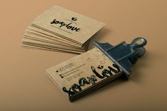 Cartão de Visitas - SoapLove