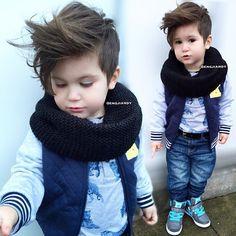 De liefste, leukste, stoerste kapsels voor jongetjes! Bekijk ook hun stoere outfit! Love it!