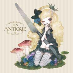 "Pechika, ""Lily Antique"""