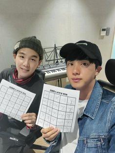 Happy radio with Halli Galli-major Seokjin-ssi! Foto Bts, Bts Photo, Seokjin, Park Ji Min, K Pop, Jikook, Taehyung, Selca, V Bts Wallpaper