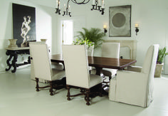 Traditional dinning room set by Bernhardt.