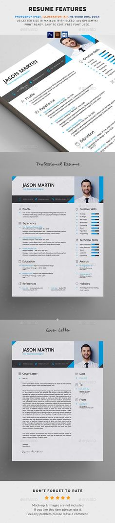 Resume With Cover Letter - #Resumes Stationery Download here